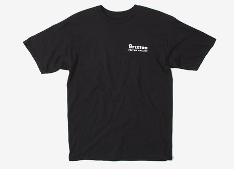 Brixton Crowich T Shirt - Black