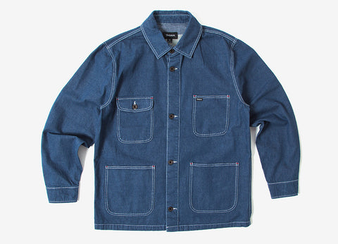 Brixton Silas Chore Jacket - Denim