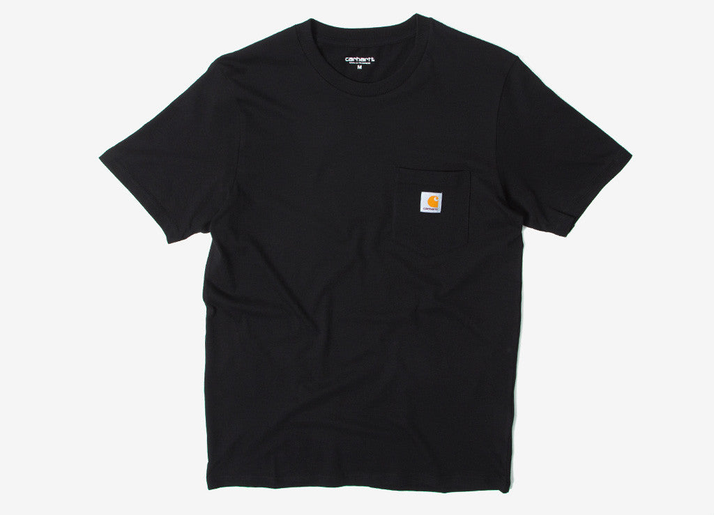 Carhartt Pocket T Shirt - Black