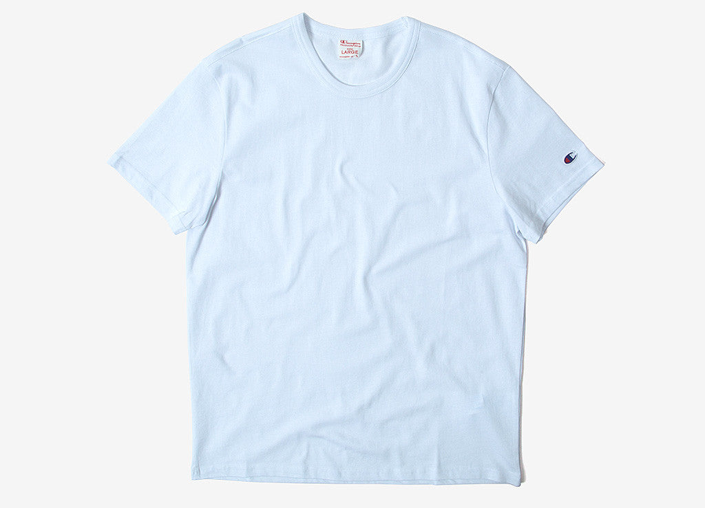 e0ea384c Champion | Champion Reverse Weave | Champion T Shirts - White | The Chimp  Store