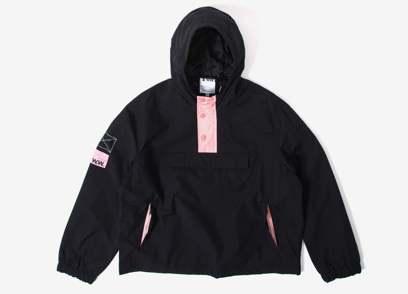 Champion x Wood Wood Niko jacket - Black