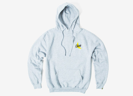 Chimp Abstract Pullover Hoody - Heather Grey
