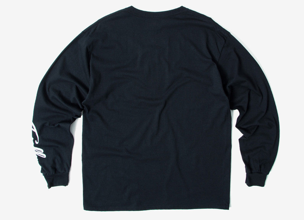 Chimp Totally Long Sleeve T Shirt - Black