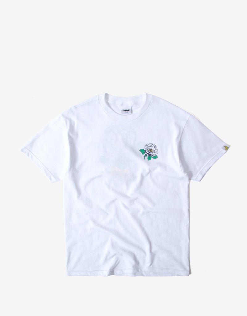 Chimp Yorkshire Rose T Shirt - White