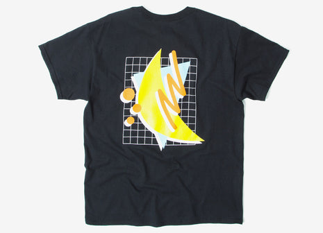 Chimp Abstract T Shirt - Black