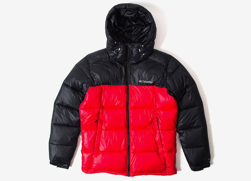Columbia Pike Lake Hooded Jacket - Mountain Red