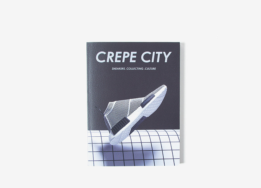 Crepe City Magazine Issue 2 - adidas Cover