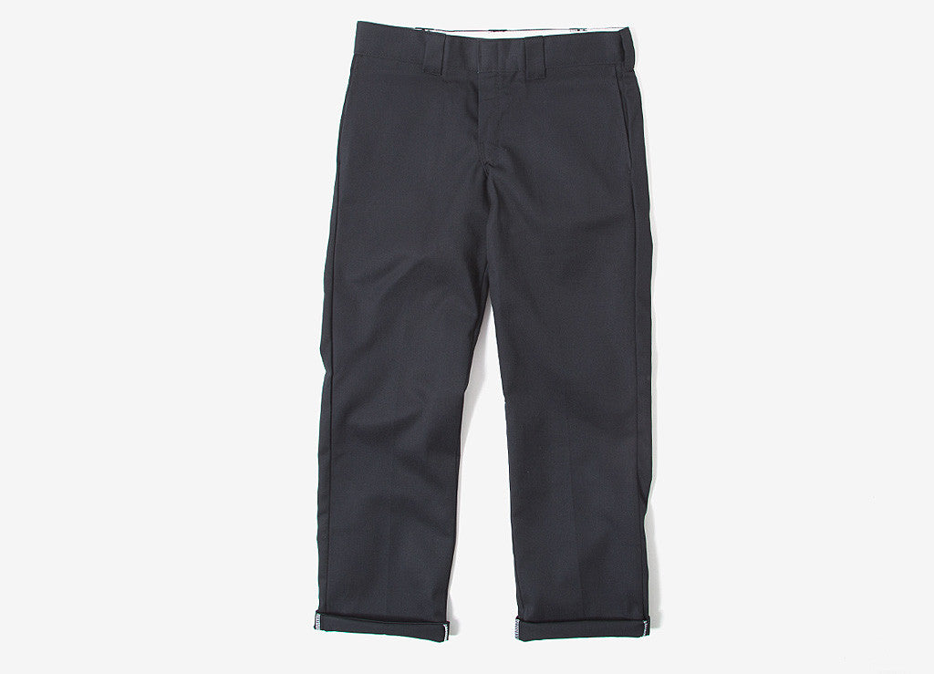 Dickies 873 Slim/Straight Work Trousers - Black