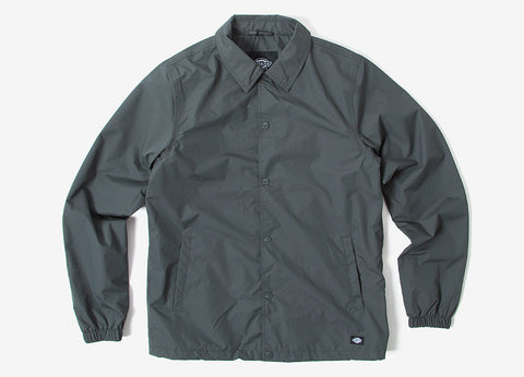 Dickies Torrance Coach Jacket - Charcoal Grey
