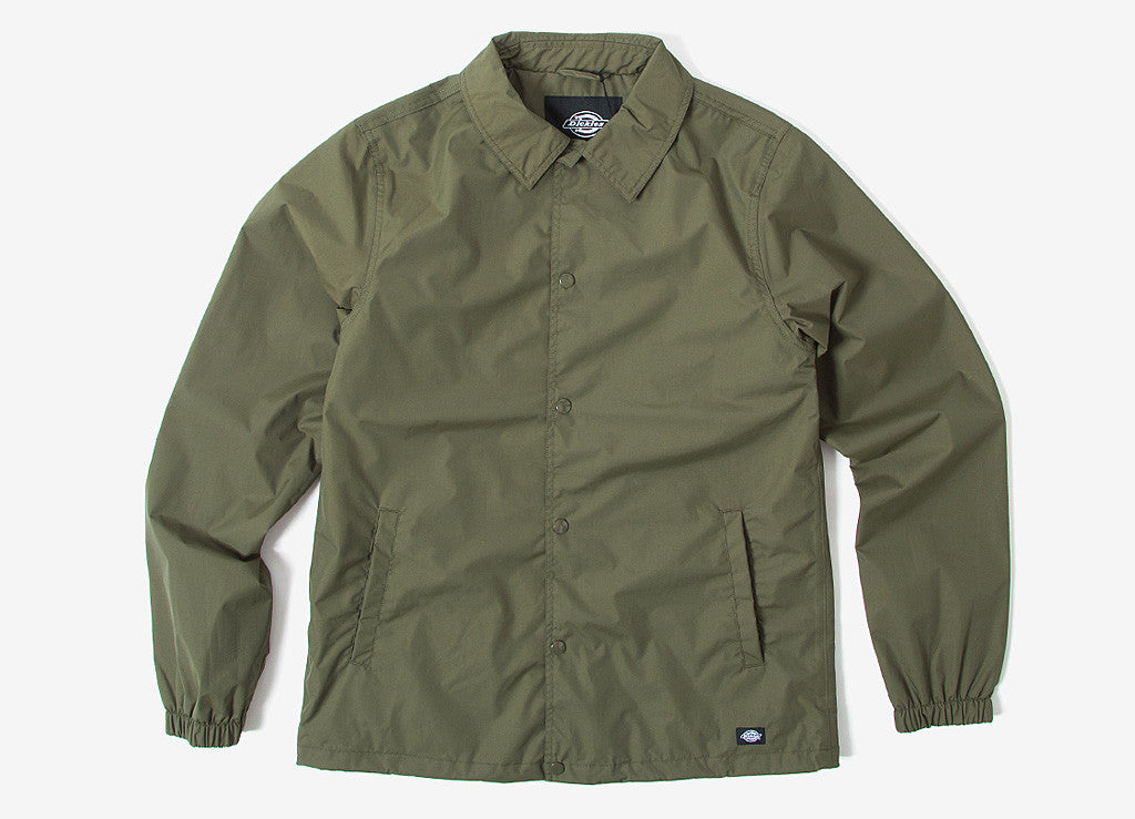 Dickies Torrance Coach Jacket - Dark Olive