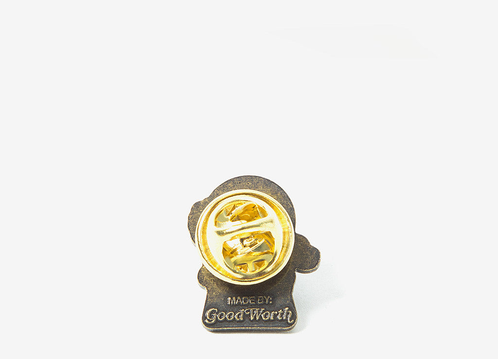 Good Worth & Co Adults Only Pin Badge - Allover
