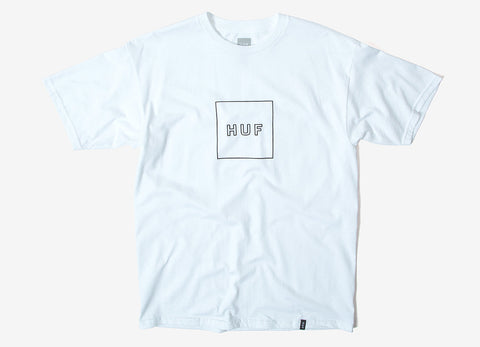 HUF Logo Puff T Shirt - White
