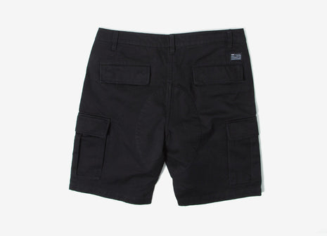 HUF Cargo Shorts - Black