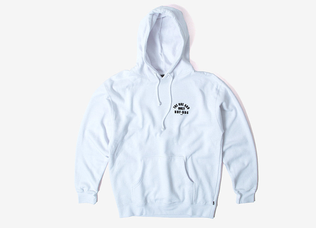 HUF Chief Pullover Hoody - White