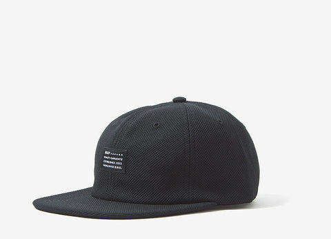 HUF Diamond Knit 6 Panel Cap - Black