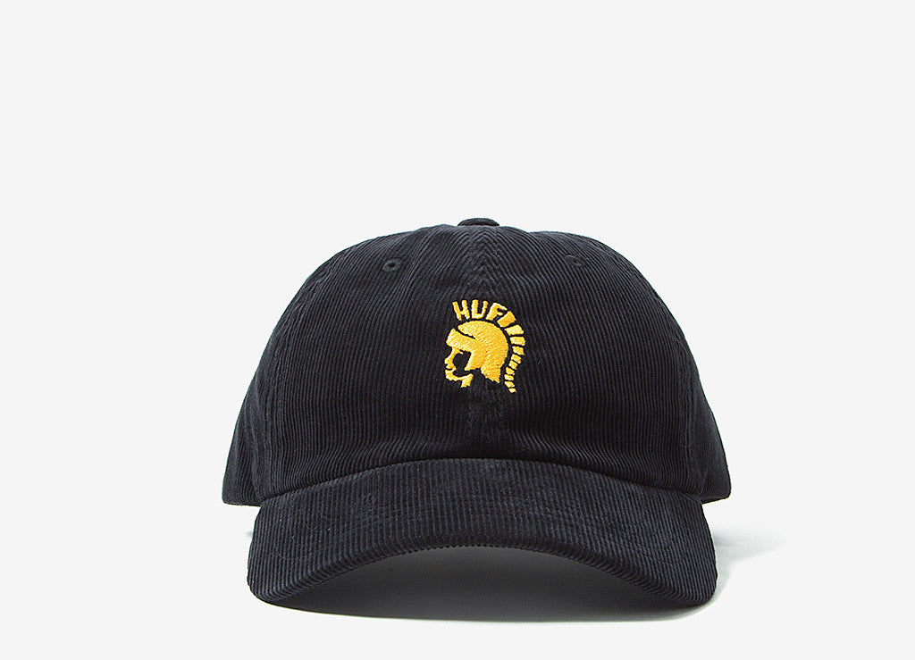 HUF Jimmy Curve Visor 6 Panel Cap - Black