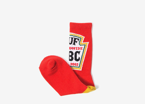 HUF Ketchup Socks - Red