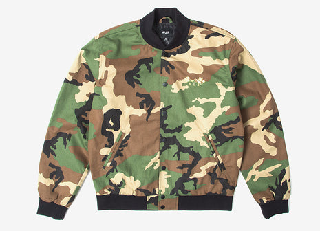 HUF Kingston Jacket - Woodland