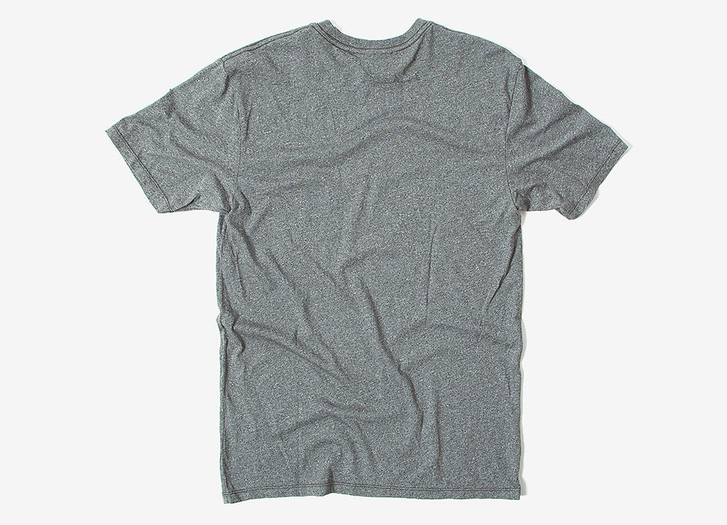 HUF Premium Mock Twist Pocket T Shirt - Military Green