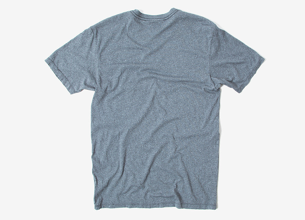 HUF Premium Mock Twist Pocket T Shirt - Charcoal