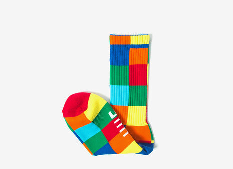 HUF Loud Shapes Crew Socks - Multi