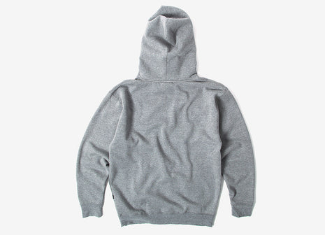 HUF Original Logo Pullover Hoody - Heather Grey