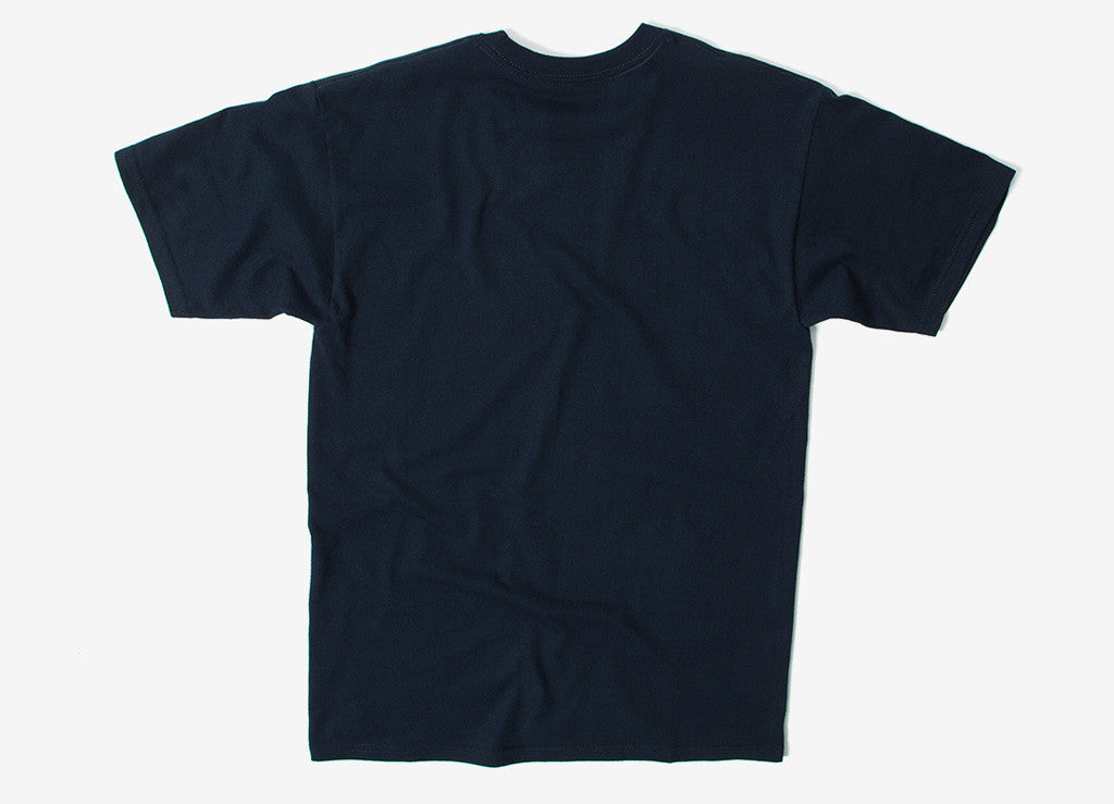 HUF Original Logo T Shirt - Navy