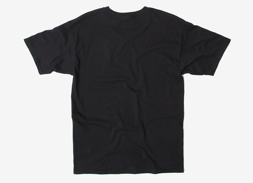 HUF Side Script T Shirt - Black