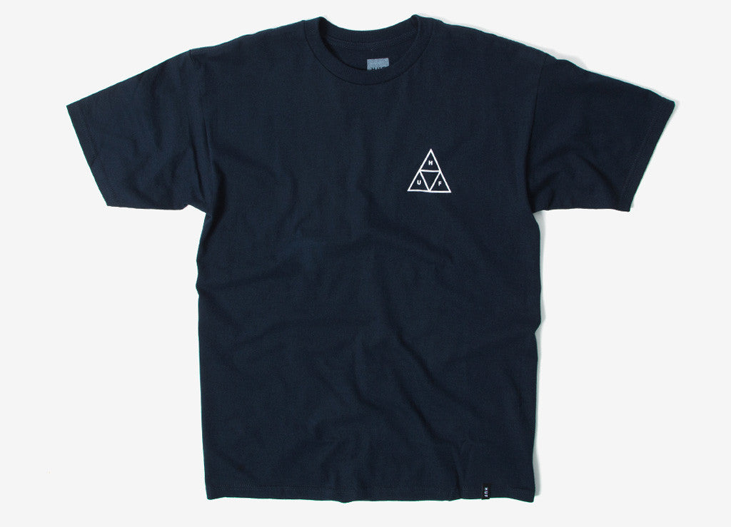 HUF Triple Triangle T Shirt - Navy
