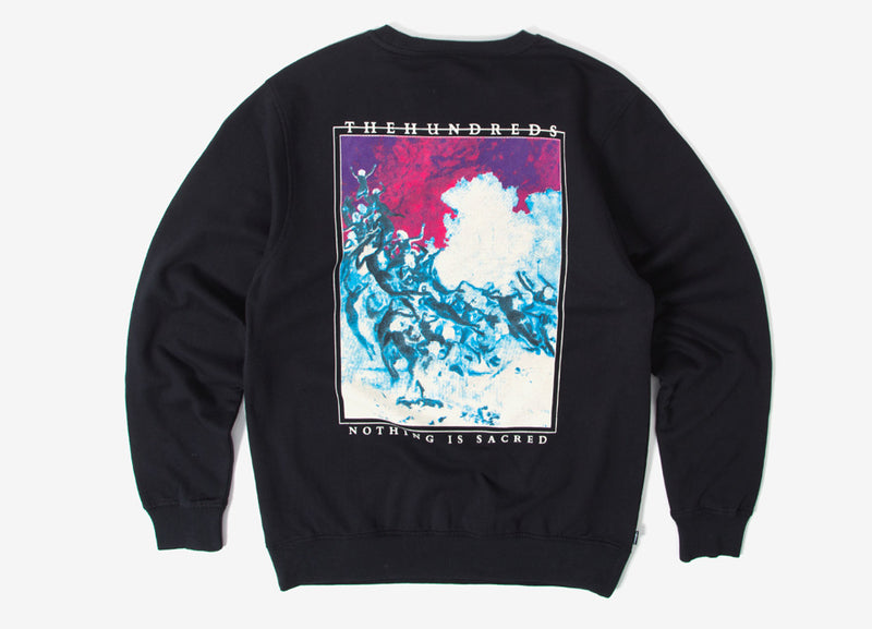 The Hundreds End Crewneck Sweatshirt - Black
