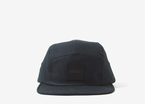 indcsn Stealth Team 5 Panel Cap - Black