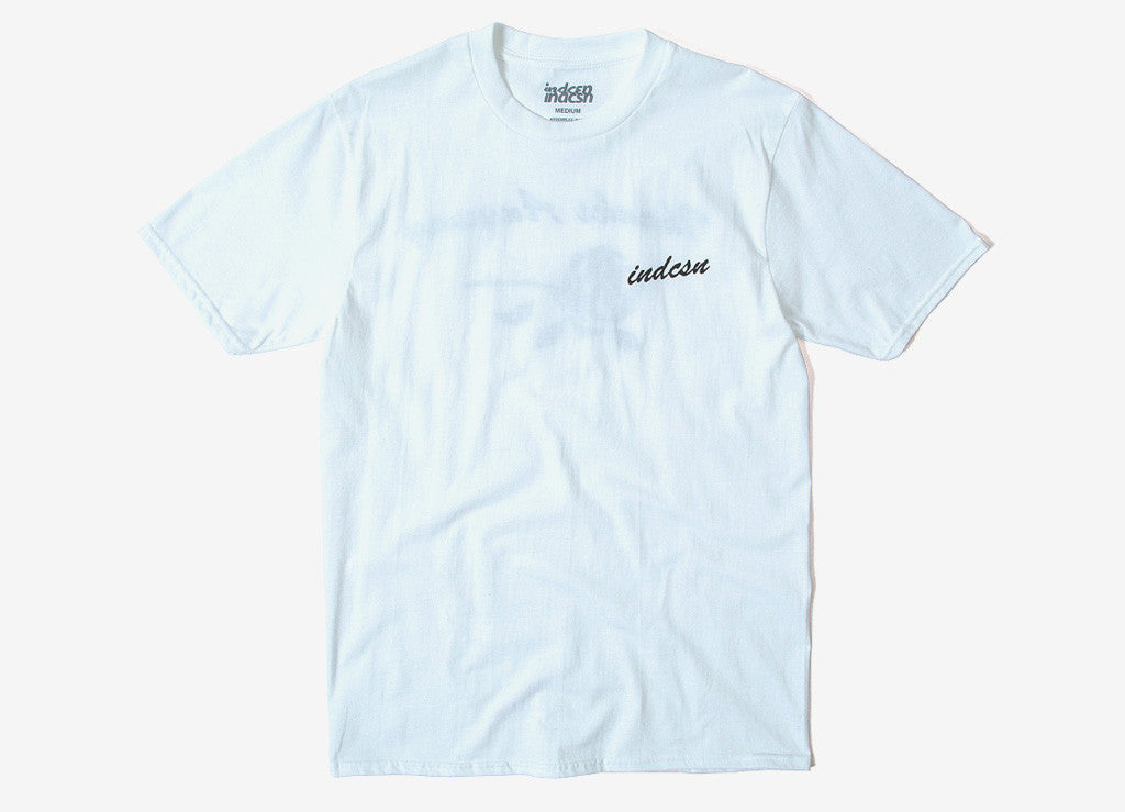 indcsn Thanks Anyway T Shirt - White