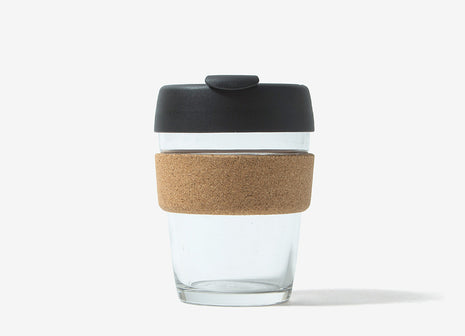 KeepCup Cork Reusable Glass Coffee Cup - Espresso Cork