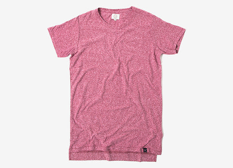 SUIT Narrow Tee - Maroon