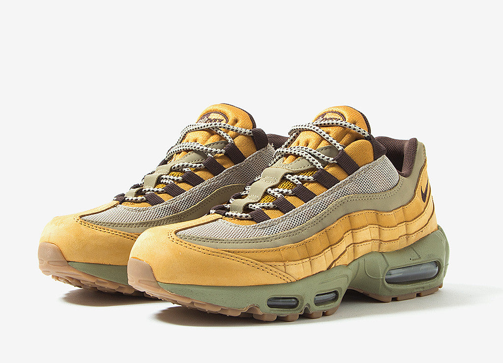 Nike Air Max 95 'Flax' Shoes - Bronze/Bronze-Bamboo