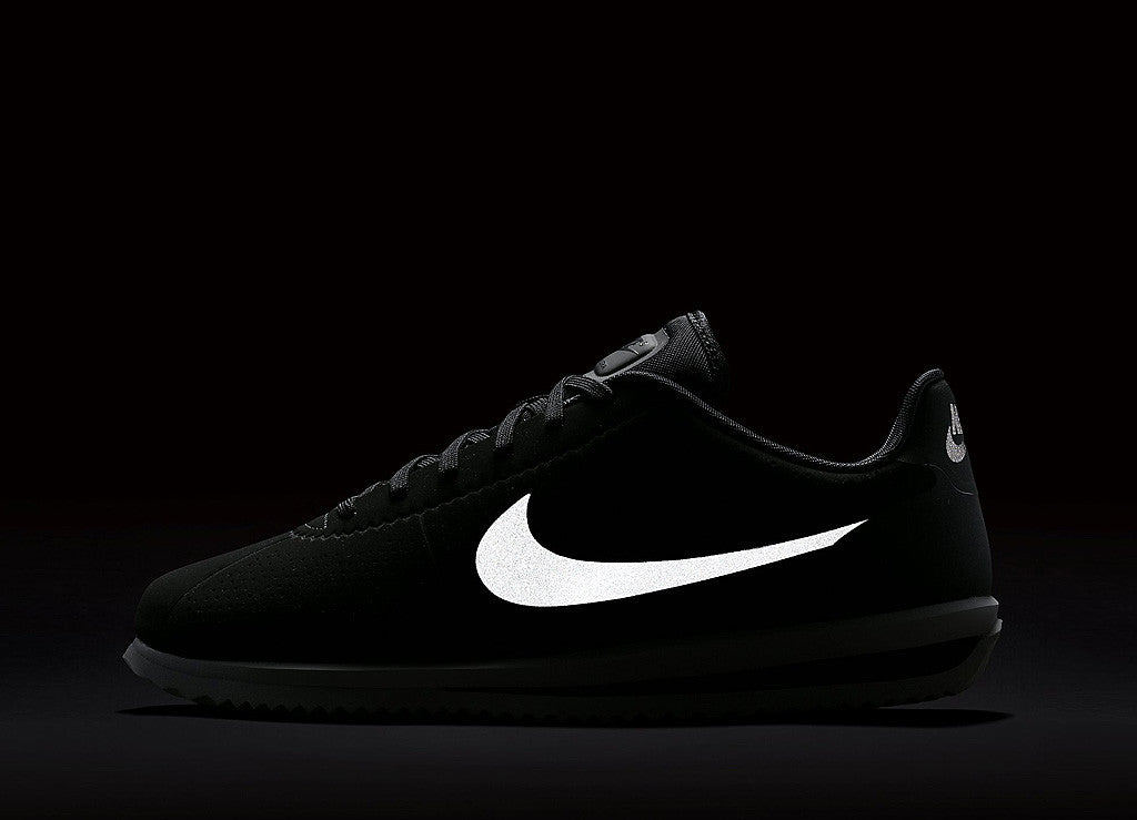 Nike Cortez Ultra Moire Shoes - Black/Black-White