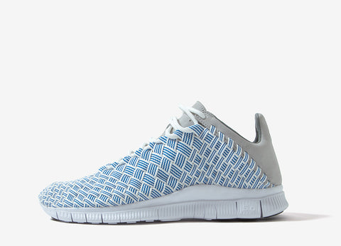 Nike Free Inneva Woven Shoes - Fountain Blue/Graphite