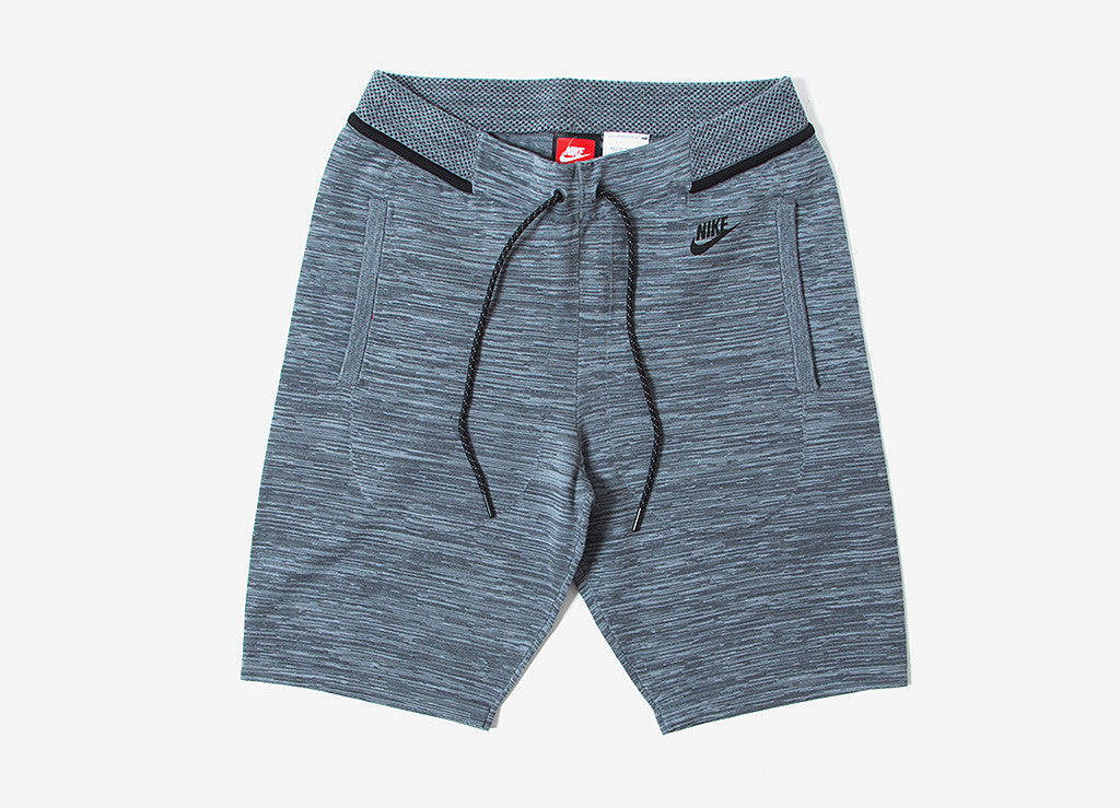 Nike Tech Knit Shorts - Cool Grey/Black