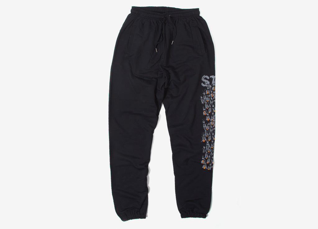 StreetX Buzz Kill Sweatpants - Black