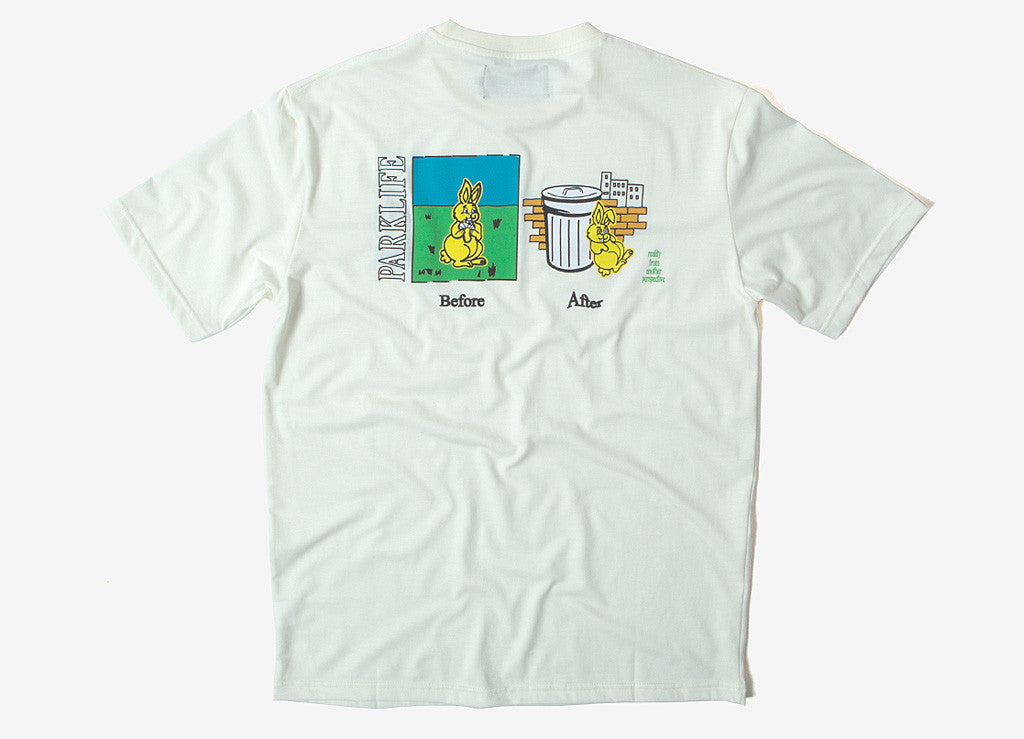 Pas de Mer Parklife T Shirt - Natural