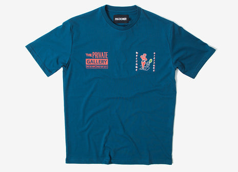 Pas de Mer Private Gallery T Shirt - Navy
