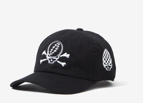 Pleasures x The Grateful Dead Crew Cap - Black