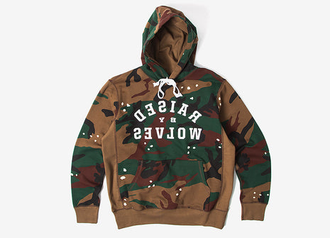 Raised By Wolves Mirror Pullover Hoody - Camo