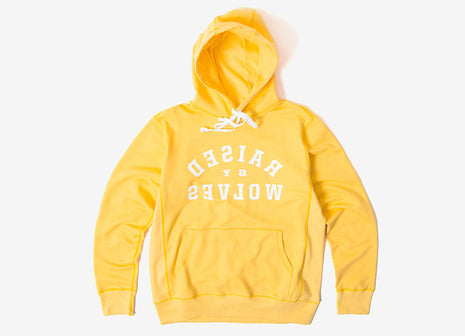 Raised By Wolves Mirror Pullover Hoody - Old Gold