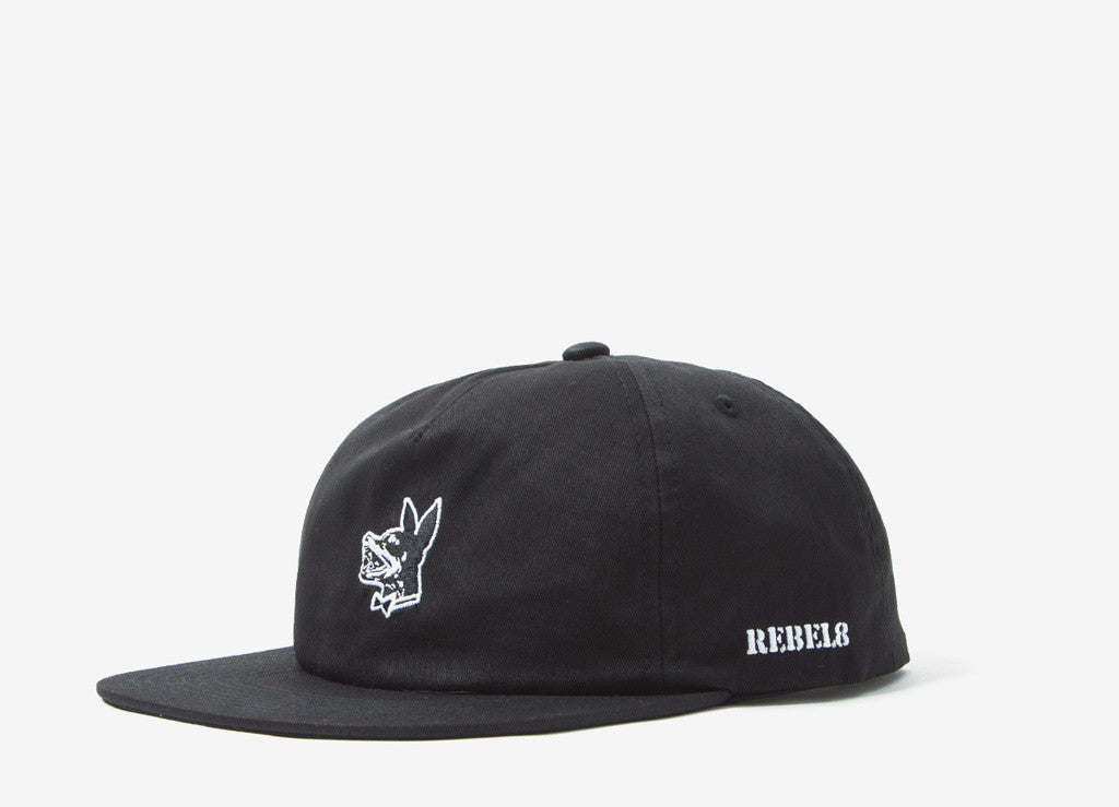 Rebel8 Proper Fucked Snapback Cap - Black