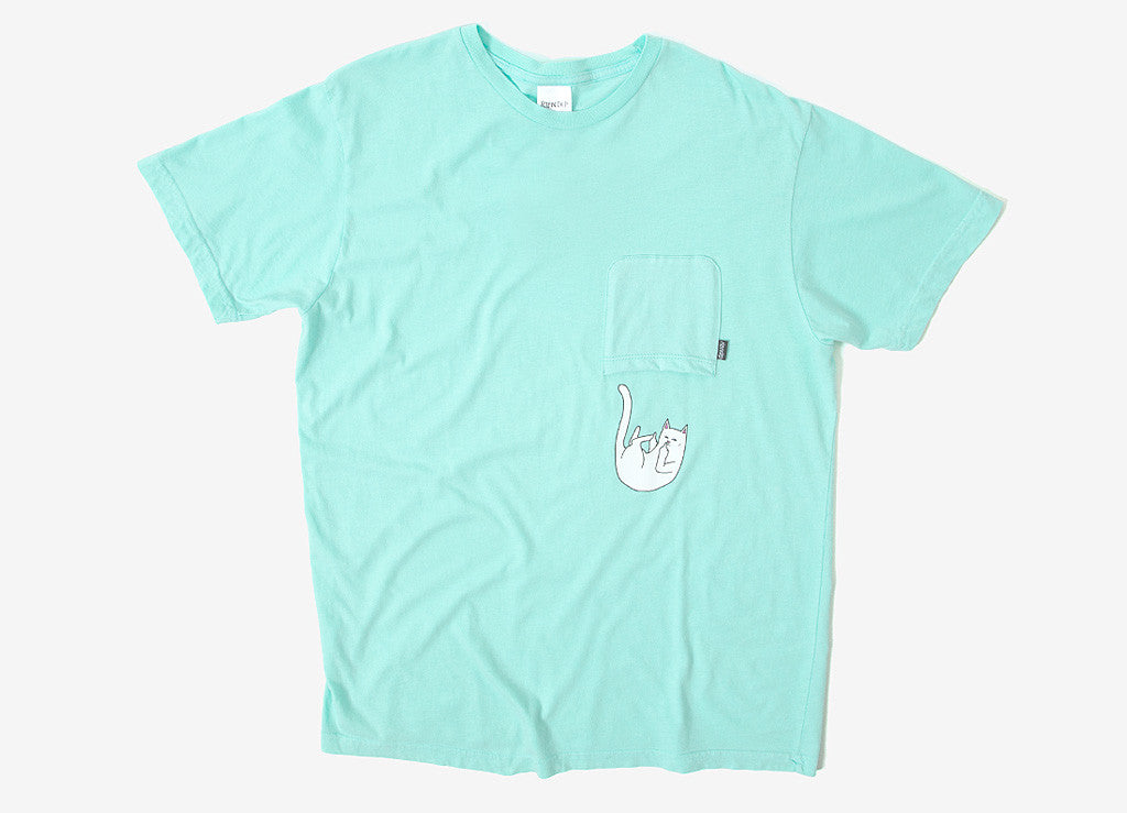 Rip N Dip Falling Upside Down Pocket T Shirt - Mint