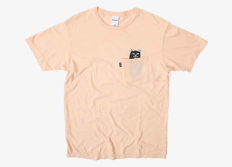 Rip N Dip Lord Jermal Pocket T Shirt - Salmon