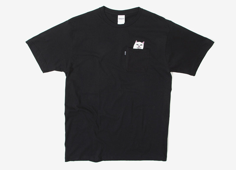 Rip N Dip Lord Nermal Pocket T Shirt - Black