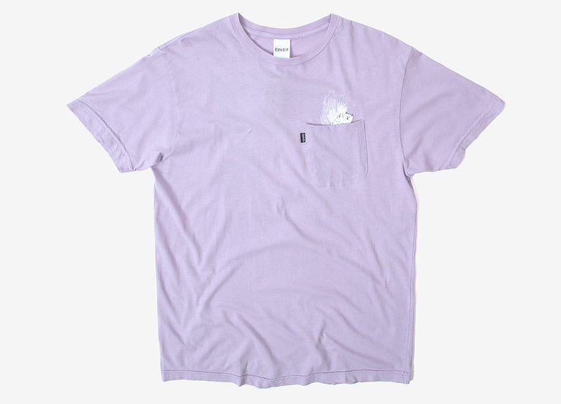 Rip N Dip A Nermal Splash Pocket T Shirt - Lavender