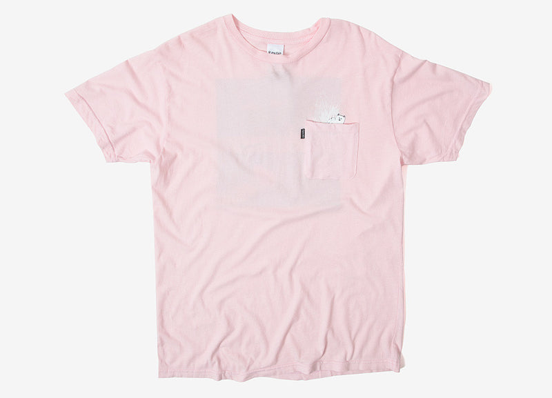 Rip N Dip A Nermal Splash Pocket T Shirt - Pink